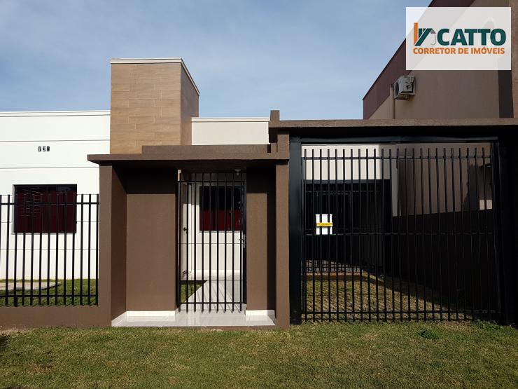 Casa de 93 m² e lote de 420 m² ao lado da marmorária Peretti em S.I.O-PR