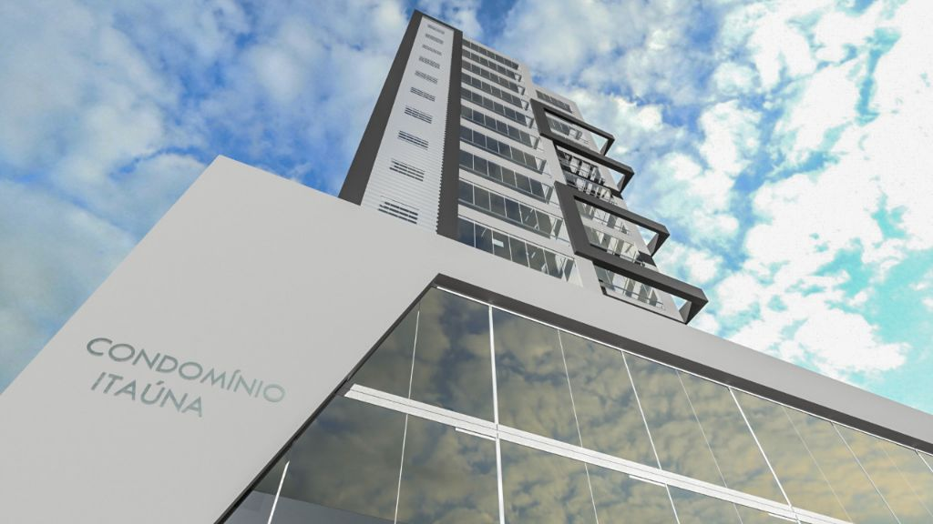 LANÇAMENTO Condomínio Itaúna, próximo ao Centro e Faculdades, 1 Suite + 1 Quarto