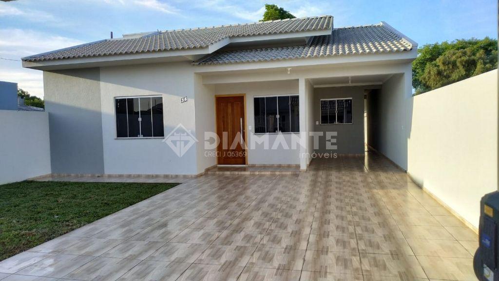 Ótima Casa Em Alvenaria, Nova, Pronta pra Morar em Dois Vizinhos