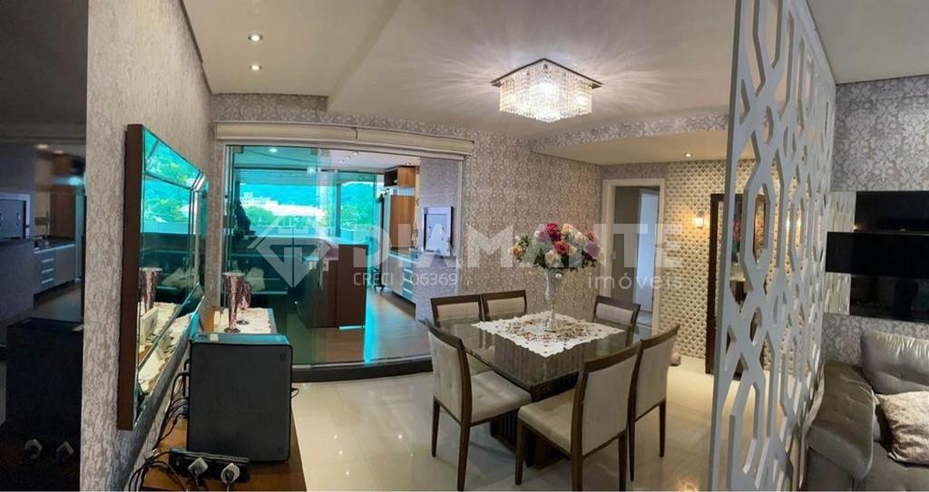 Belíssimo Apartamento Mobiliado no Ed. Belo Horizonte, 01 Suíte + 02 Dormitórios