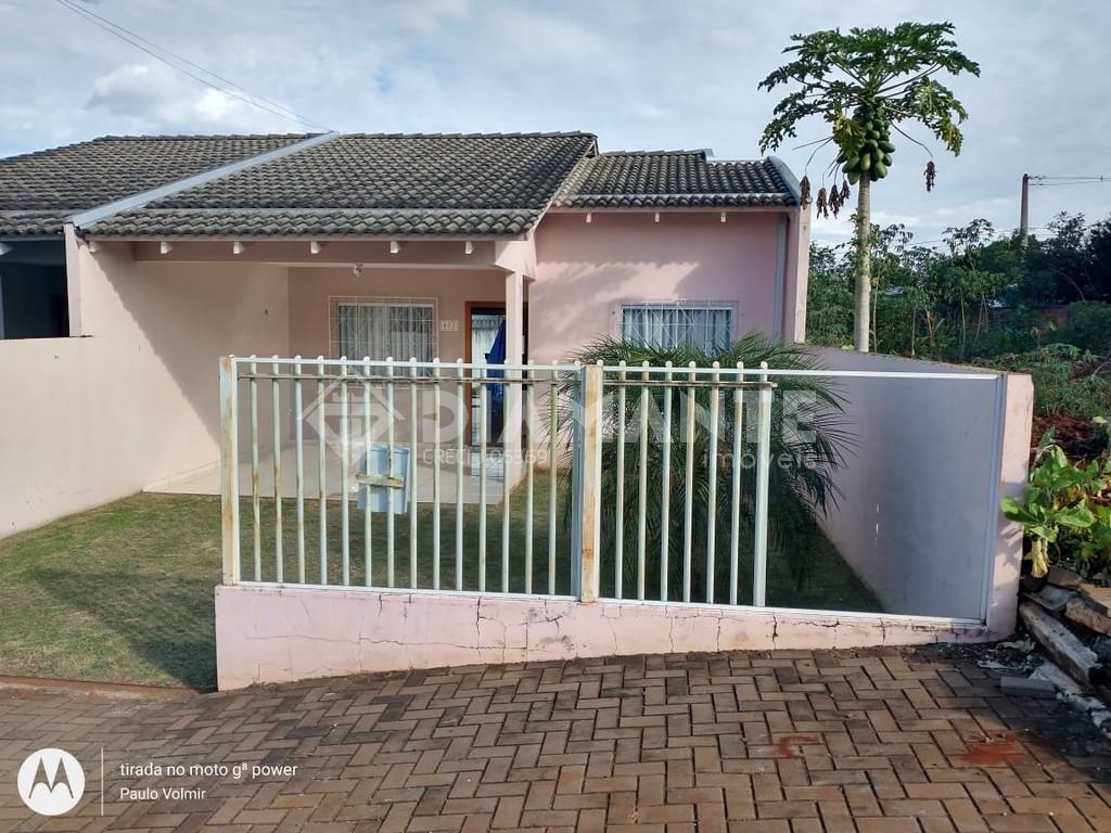 Casa com 02 Dormitórios no Bairro Jardim Floresta, Possui Sobra de Terreno!